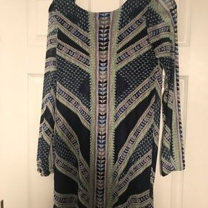 Fire LA Dress with long see through sleeves